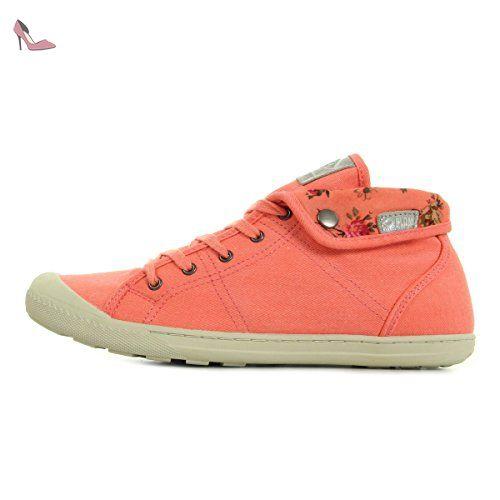 PLDM by Palladium Letty Twl Corail/Flower 73778D49, Basket - 40 EU -  Chaussures