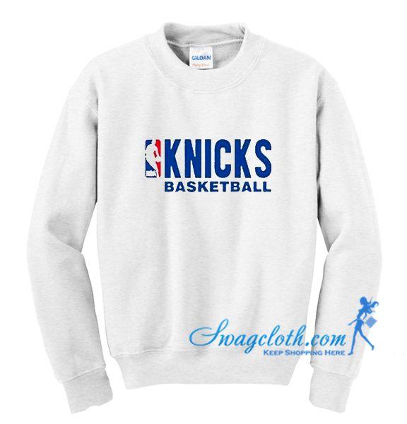 Knicks Basketball Sweatshirt Sweatshirts Influencers Fashion Club Sweatshirts