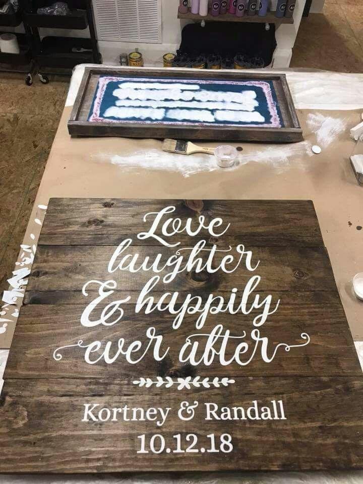 Wood Ideas Silhouette Projects Cricut Wedding