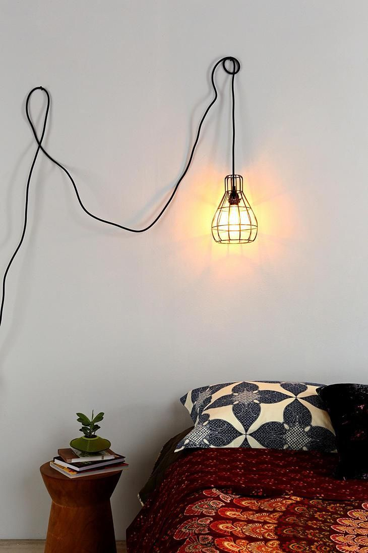 Turn Your Unsightly Wire Cables and Cords into Wall Art | Wire art ...