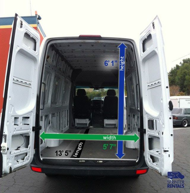 Crew Cargo Sprinter Sprinter Van Rentals Usa Passenger Cargo Sprinter Vans For Rent In La San Diego San Franci Cargo Van Sprinter Van Mercedes Sprinter