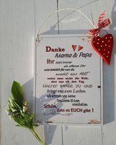Dekoschild, Türschild, Mama und Papa, Geschenk für Eltern, Geschenk für Großeltern Dekoschild, Schild, Holzschild, für Mama und Papa, Geschenk für Oma und Opa, Hochzeitstag, Silberhochzeit, Türschild, Goldhochzeit, Weihnachtsgeschenk, zauberhaft, Geschenk für Oma, liebste Menschen, Lieblingsmensch, Lebensweisheiten, Weisheiten, Sprüche, Danke Mama und Papa, Geschenk für Eltern, Geschenk für Großeltern T... #Dekoschild #Eltern #für #Geschenk #Großeltern #Mama #Papa #Türschild #und