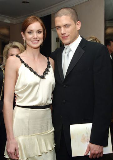 Wentworth Miller & Sarah Wayne Callies
