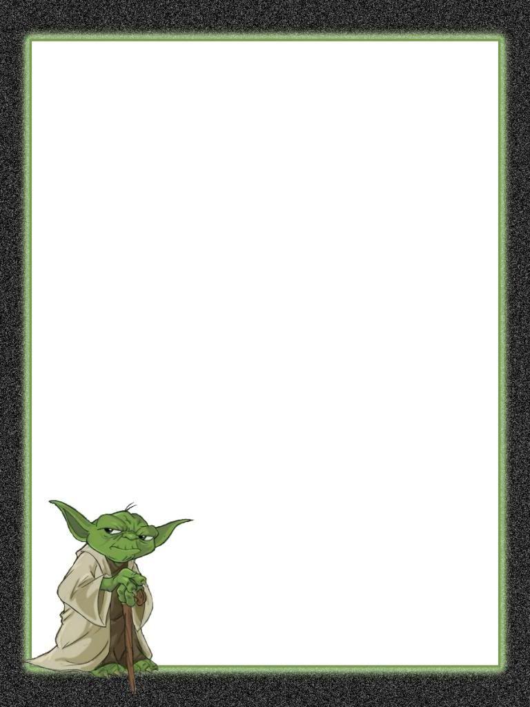 Journal Card - Star Wars - Yoda - 3x4 photo pz_711_StarWars_Yoda_3x4 ...