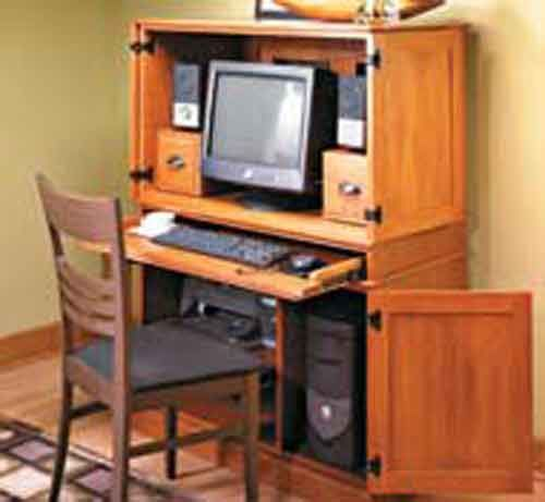 Computer Cabinets With Desk