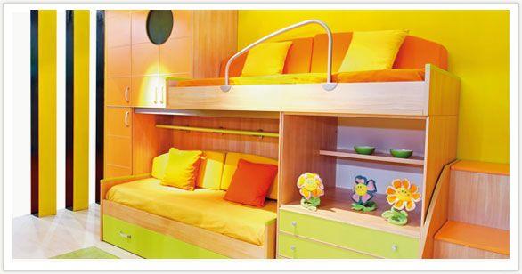 cama de dos pisos con escritorio - Google Search   camas   Pinterest ...