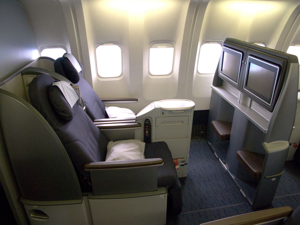 Our International BusinessClass cabin is the ultimate in