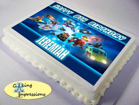 Lego Dimensions Cake Topper Lego Dimensions Edible Image Cake