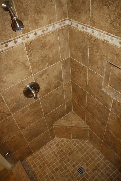 Shower Re Tile Ideas Wood Tile Shower Shower Tile Wood Tile