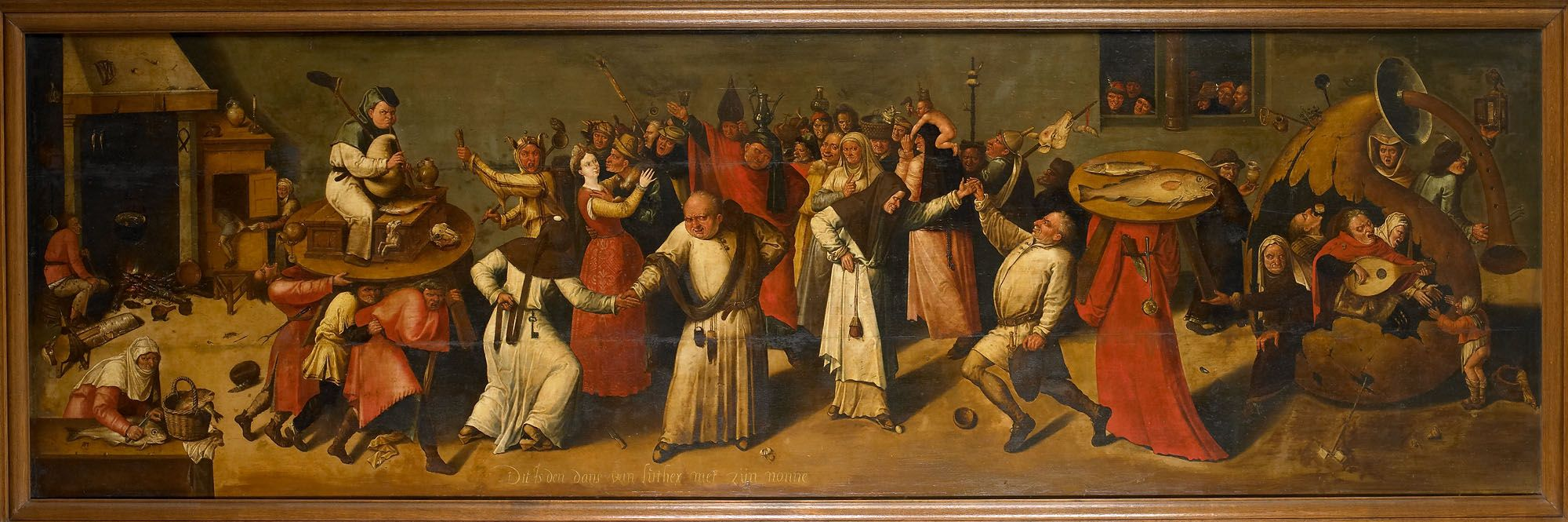 Battle between Carnival and Lent. Bosch, Hieronymus