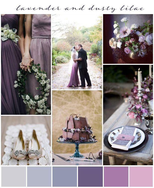 Lavendel und staubige lila Hochzeits-Inspiration   – Becoming Mrs. Baskett❤️
