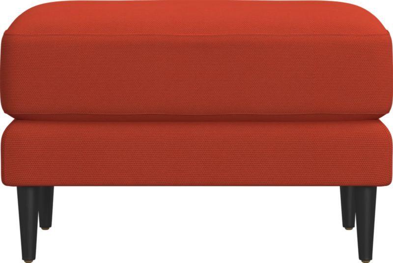 parlour ottoman (Woven Textural Poly)
