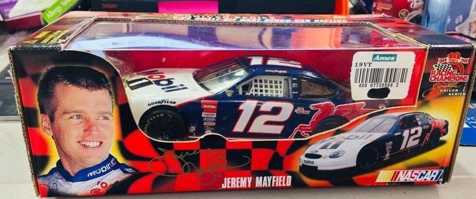 Mobil 1 12 Jeremy Mayfield 124 Stcok Car Nascar