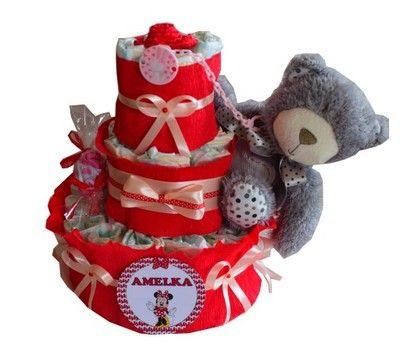 Tort Z Pampersow Allegro Pl Wiecej Niz Aukcje Najlepsze Oferty Na Najwiekszej Platformie Handlowej Diaper Cake Diaper Teddy Bear