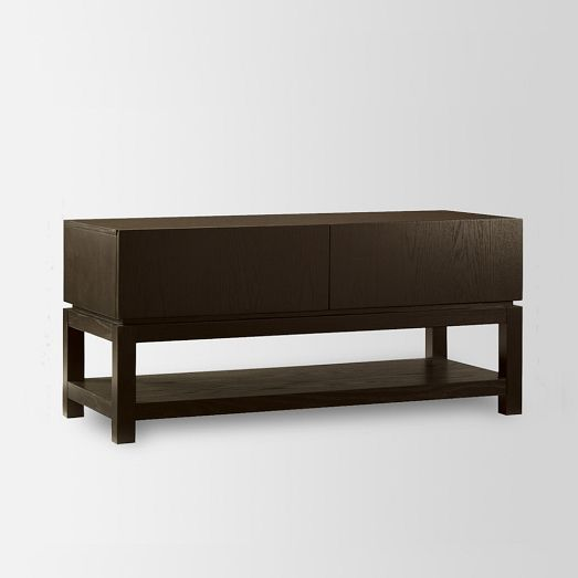 Parsons Media Small Console   West Elm