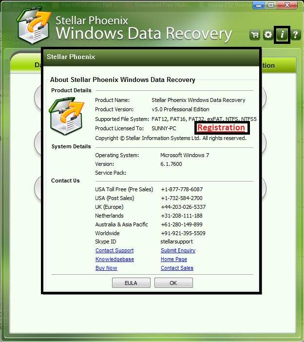 stellar phoenix mac data recovery 6.0 registration key