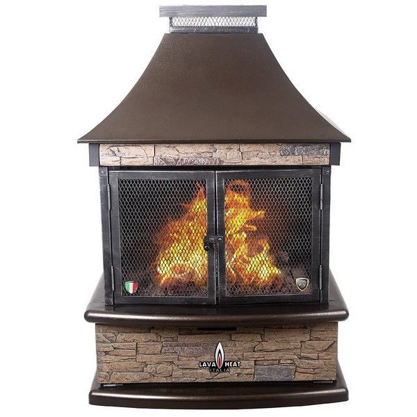 See Through Outdoor Fireplace Kits Outdoor Fireplace Pinterest