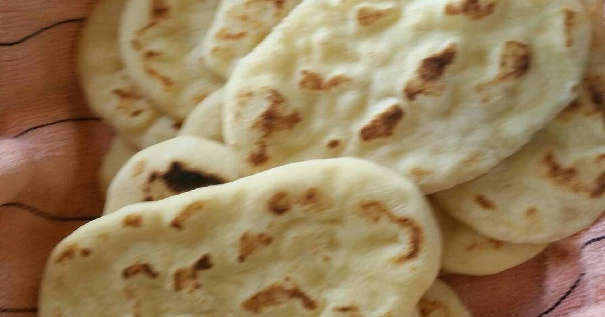 خبز النان خبز هندي بالصور من Hessa Alkhaldi Recipe Food Drink Photography Food Recipes