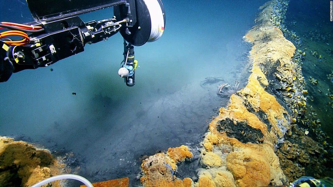 Scientists Study Deep Sea Jacuzzi Of Despair Cnn Video Deep Sea Places Of Interest Scientist