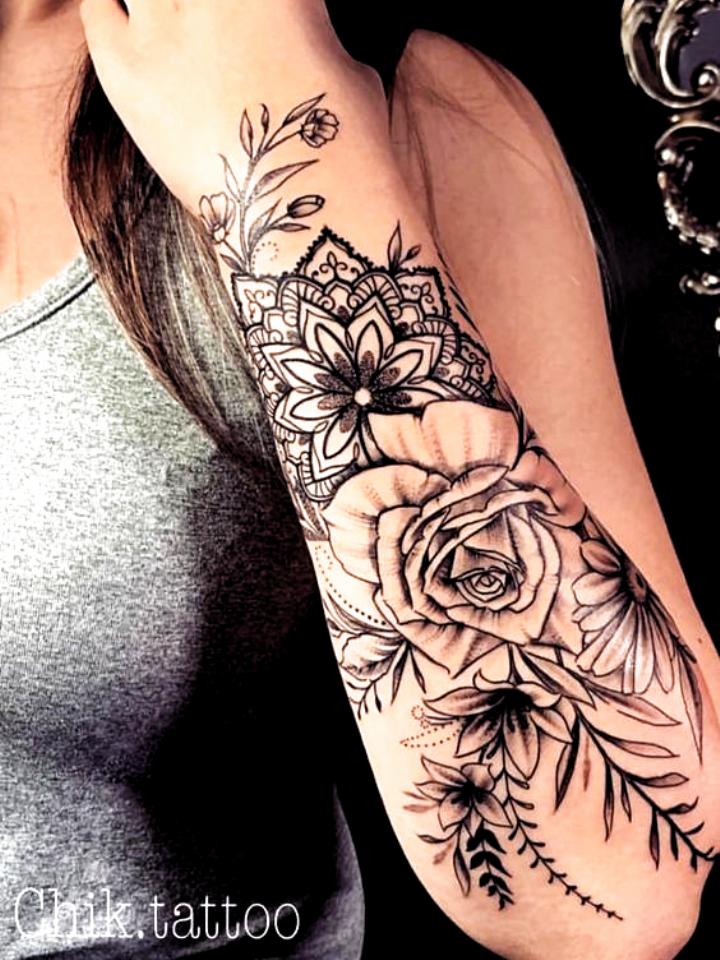 Photo of Tattoodo   T A T T O O S   #tattoossleeve Dragon tattoo arm Dragon-tattoo-arm Le…