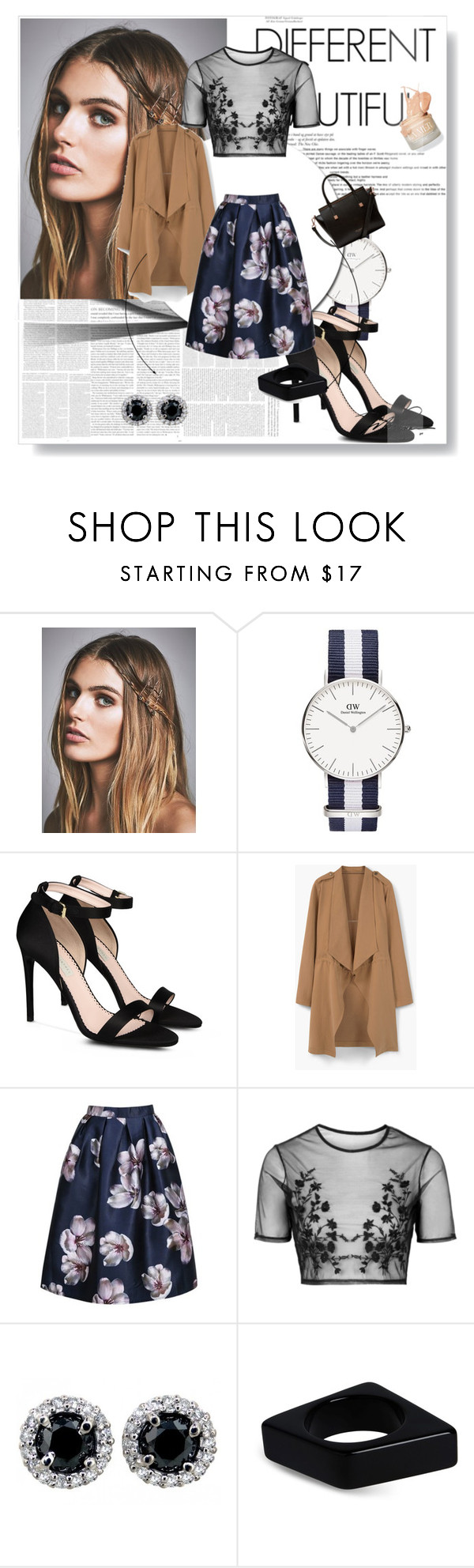 """A Classic Night Out"" by allymuno on Polyvore featuring Free People, STELLA McCARTNEY, MANGO, Topshop, Marni and Ted Baker"