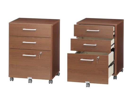 Plummers The Mobile File Pedestal Has 2 Drawers And 1 File Drawer With A Lock Comes With Pre Mounted Drawer Glides And Ad Filing Cabinet Design Files Design