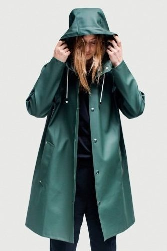 5c11db782 Mosebacke rain jacket green