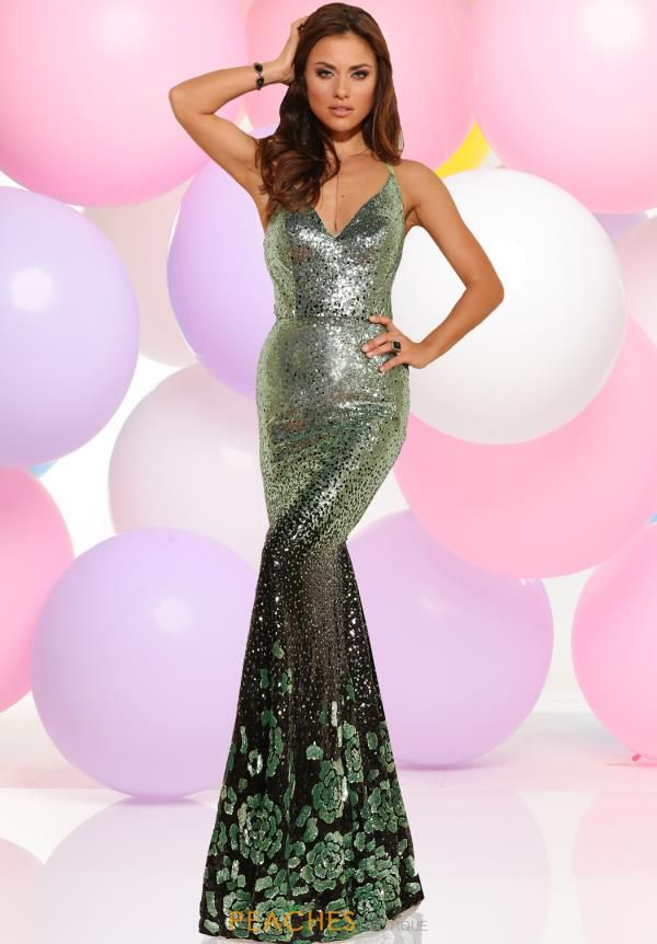 Zoey Grey Fitted Sequins Dress 31007 | 2017 Zoey Grey Dresses ...