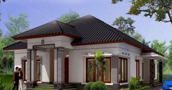 Desain Rumah Minimalis 1 Lantai 4 Kamar Tidur zia
