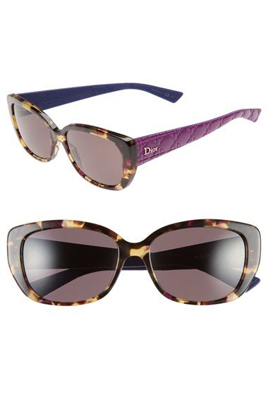 Dior+'Lady'+55mm+Retro+Sunglasses+available+at+#Nordstrom
