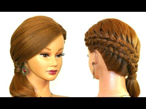 Youtube Hairstyles Pleasing Wedding Bridal Hairstyle For Long Hairupdo Hairstyles  Youtube