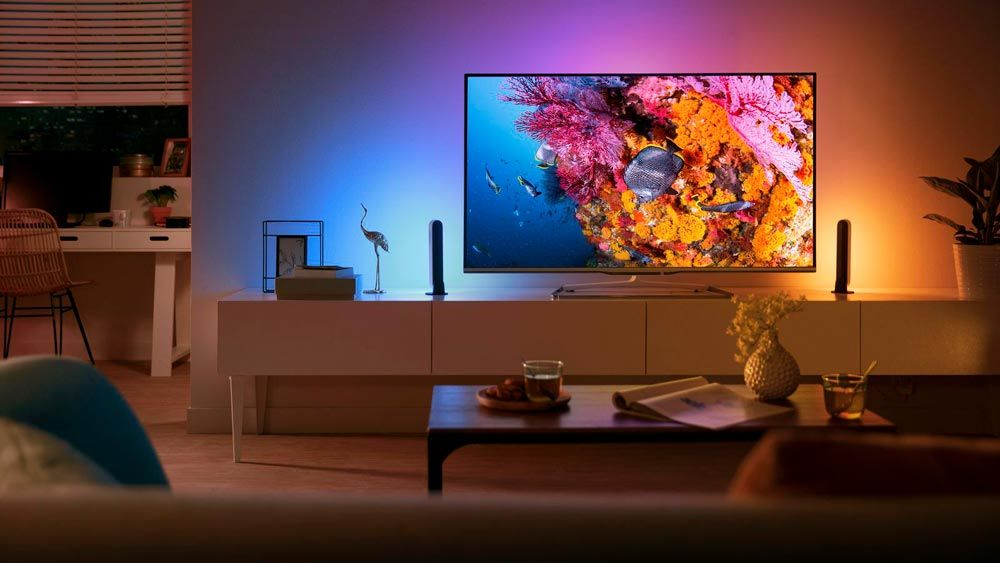 Philips Hue Tv.Philips Announces The New Hue Play Light Bar For Your Tv In