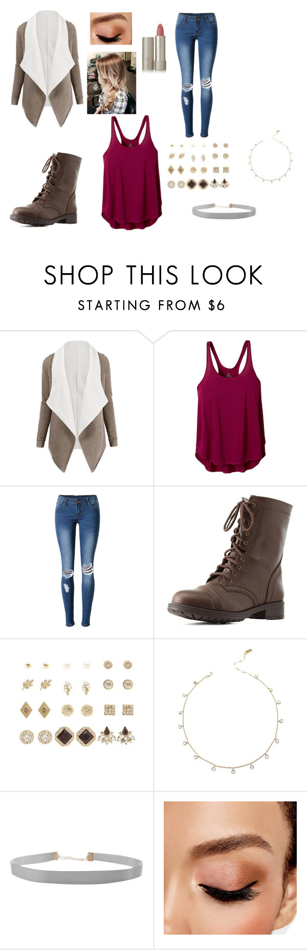 """""""Untitled #272"""" by mcl2000 on Polyvore featuring prAna, WithChic, Charlotte Russe, Humble Chic, Avon and Ilia"""
