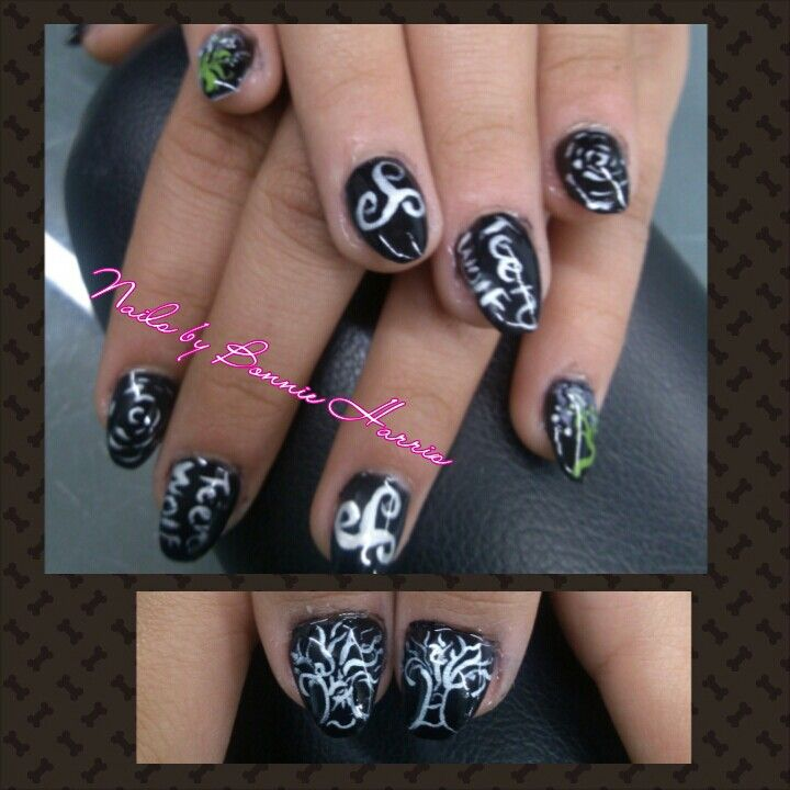 Teen Wolf Nails | teen wolf | Pinterest | Diseños de uñas y Estilo