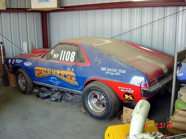 Misc Vintage Amx Race Cars Drag Racing Cars Barn Find Cars Old Race Cars
