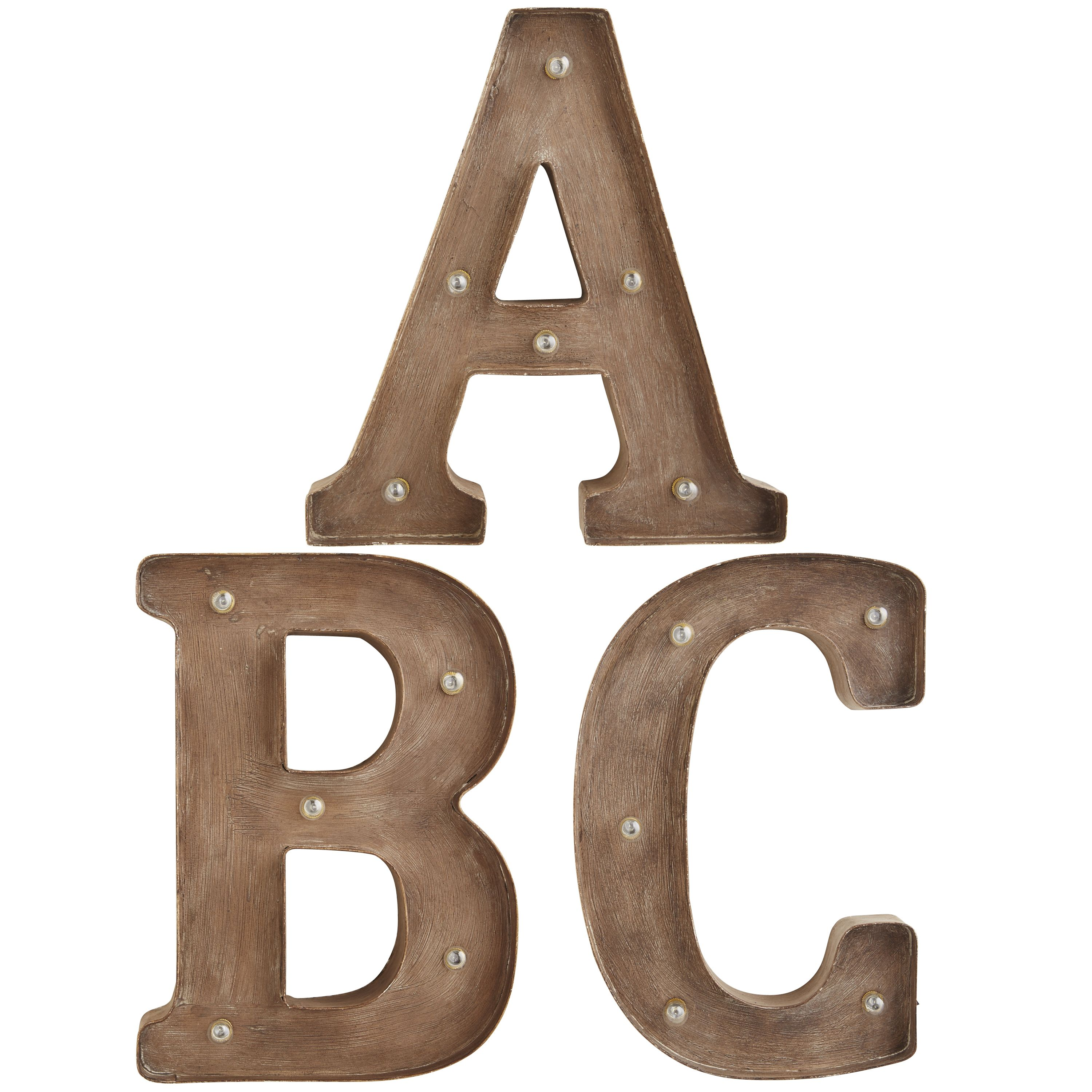 Wrought Iron Initials Wall Decor Bronze Marquee Wall Letters  Wrought Iron  *decor  Artwork