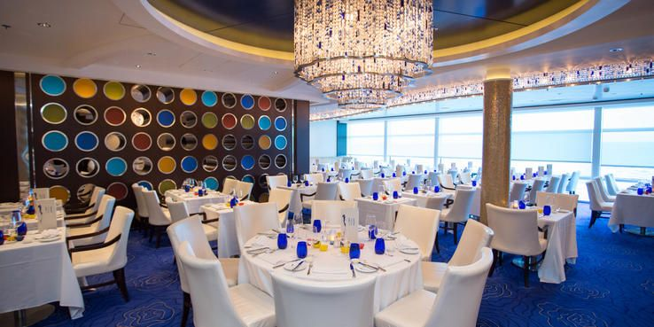Celebrity Solstice Dining Restaurants Food On Cruise Critic Princess Cruise Lines Singles Cruise Romantic Vacations