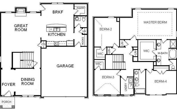 Oak Grove Manor | Bill Beazley Homes | House plans, Floor ...