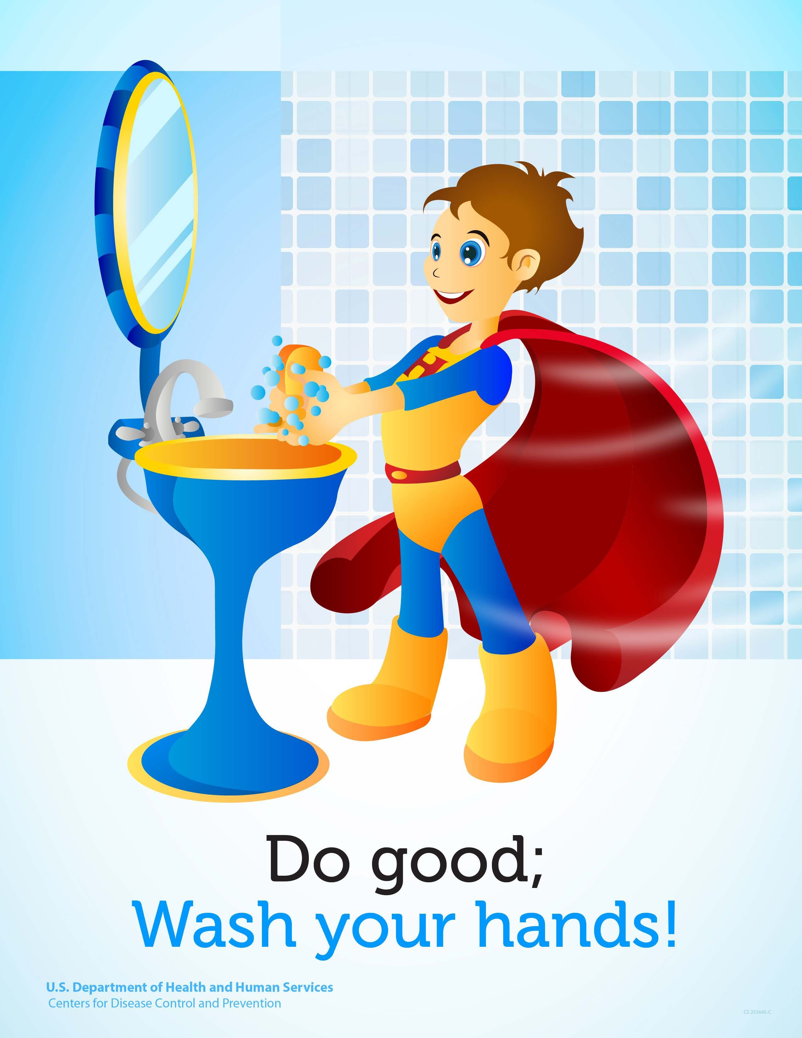 Do Good Wash Your Hands Hand Washing Poster Awareness Poster Health Awareness Poster