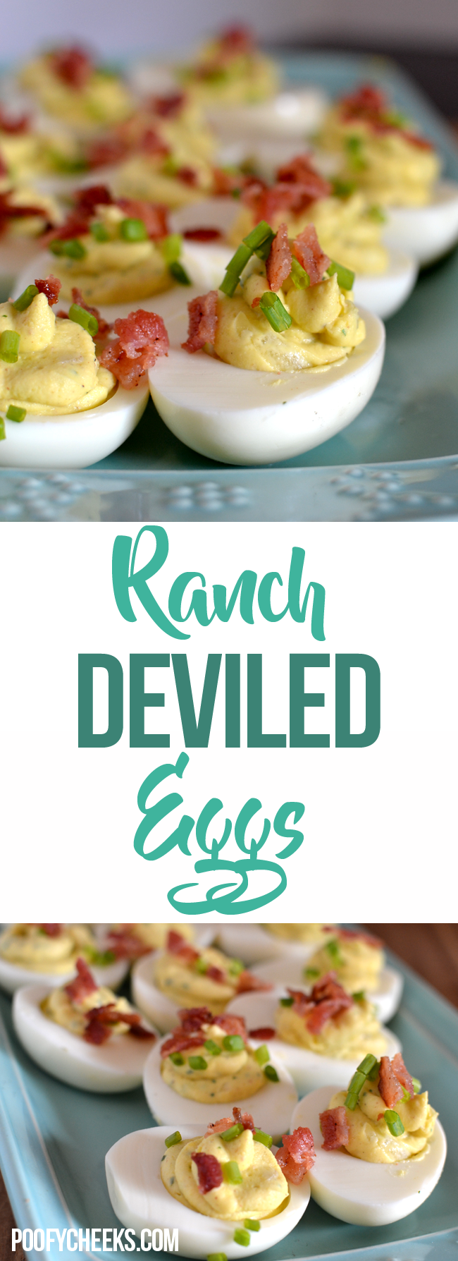 Instant Pot Ranch Deviled Eggs Recipe - Poofy Cheeks
