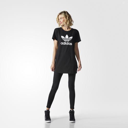 adidas - Trefoil T-shirt Jurk | Jurken, Kleding, Dameskleding