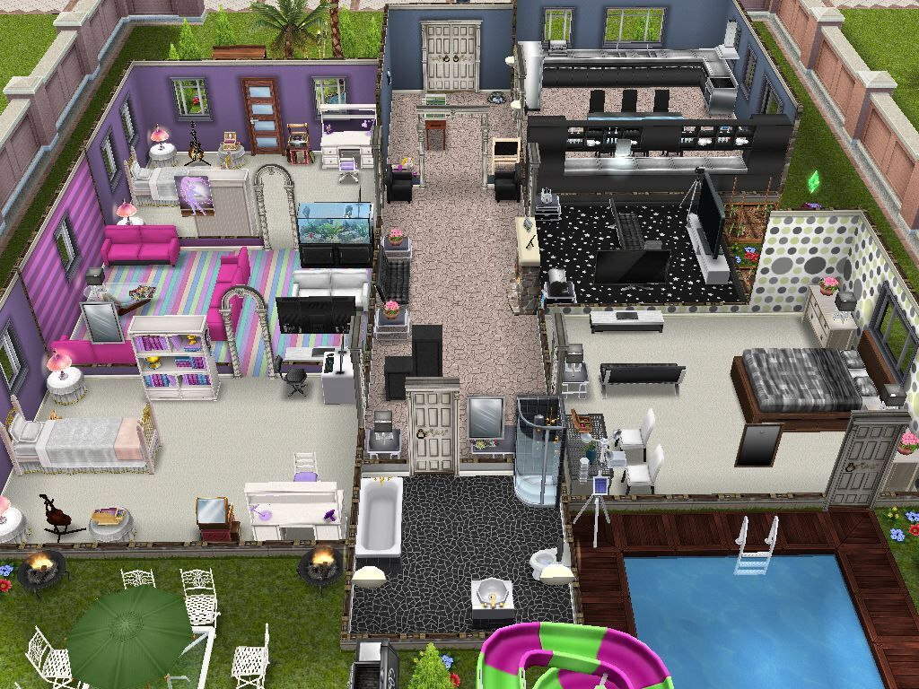 The Sims Freeplay- House Design Competition Winners! | Design ...