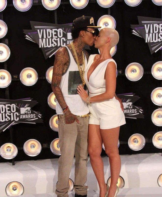 Amber Rose And Wiz Khalifa Are Proud Parents To Be Amber Rose