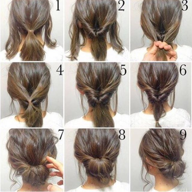 Zkuzte to #tryit #newhairdo #tip Belle Taylor Pinterest