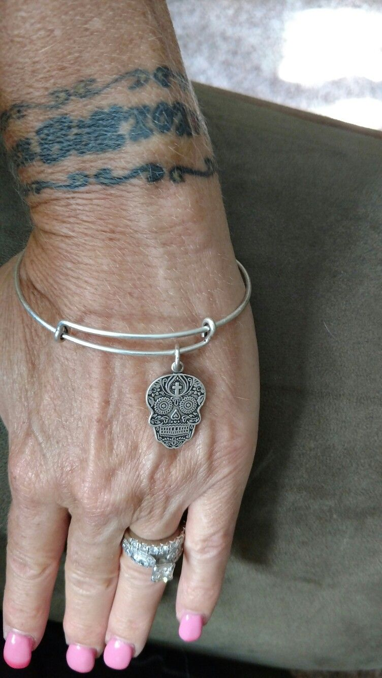 Alex And Ani Calavera My Wonderful Husband Just Gave This To Me For Our Wedding Anniversary Love It