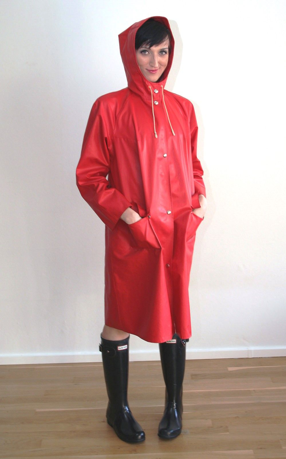 Red Rubber Mac Screwfix Pinterest Macs Raincoat And 4 Way Switch