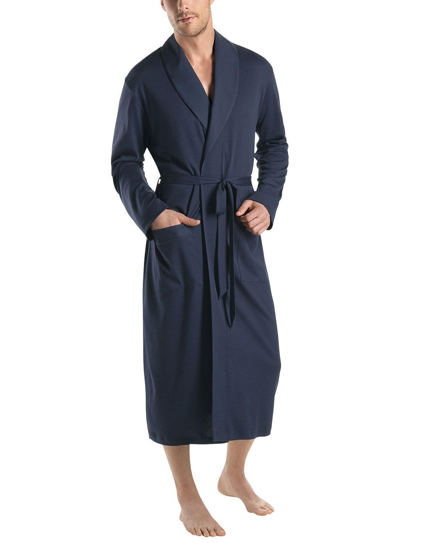 07f8be7bd278 Night & Day Knit Robe, Black Iris, Men's, Size: XX-LARGE - Hanro ...