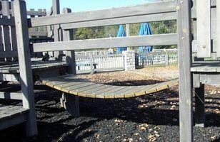 Bridge build swinging
