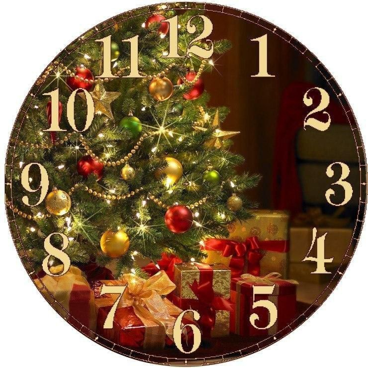 Новогодние часы — поделка на Новый год своими руками с детьми в детский сад, школу: фото. Как сделать красивые новогодние часы из коробки, картона, конфет, дисков, пенопласта, соленого теста пошагово? Идеи новогодних часов своими руками на конкурс: фото