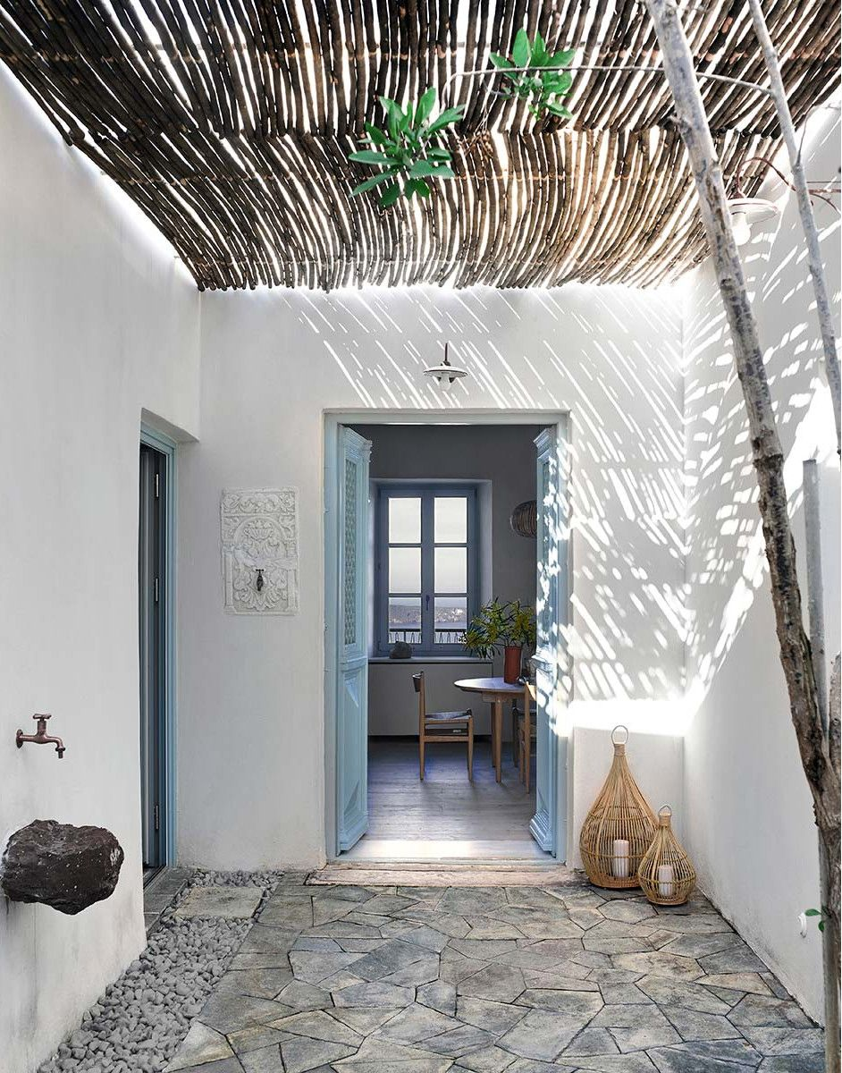 Photo of Une maison grecque sur une île – PLANETE DECO a homes world